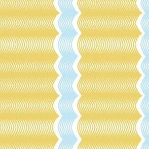 Vertical chevron stripe - Sweet Tweets