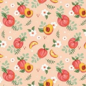 Peachy on Peach