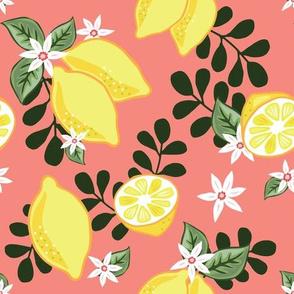 Lemons on Coral
