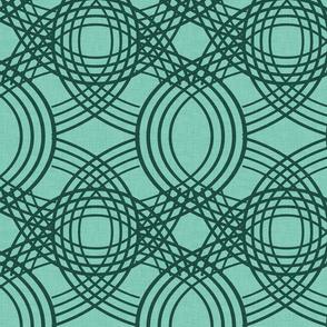 Celtic Knot pattern Spearmint