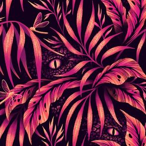 Jurassic Jungle - Orange