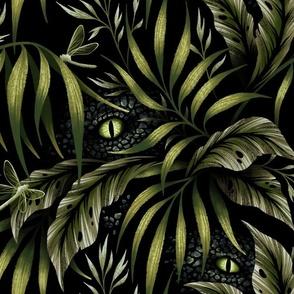 Jurassic Jungle - Camo Green