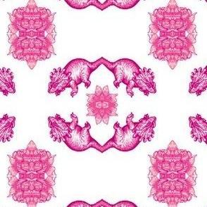 Triceratops Trellis - Pink!