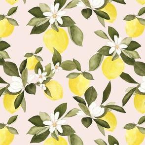 Lemon Blossoms Blush