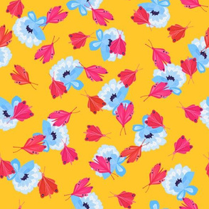 Toledo Muse butterflies mustard yellow
