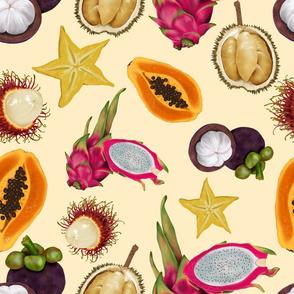 Tropical Fruits-Cream