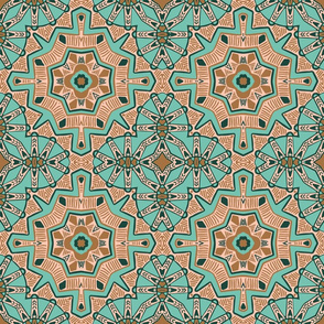 Moroccan Star Flower, LCP, large