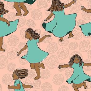 Twirling Girls
