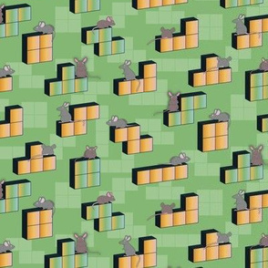Tetris playing Mouse