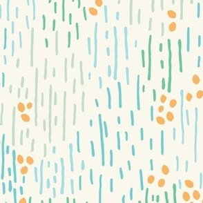Dots and stripes! A fun abstract geometric gender neutral playful design