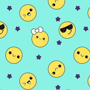 Smiles Stars kavaii
