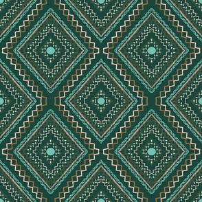Diamond Geometric Flair
