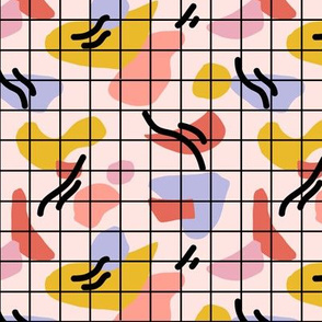 Modern Abstract Minimalist Grid (small)