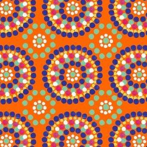 Water color cirlces (Orange)
