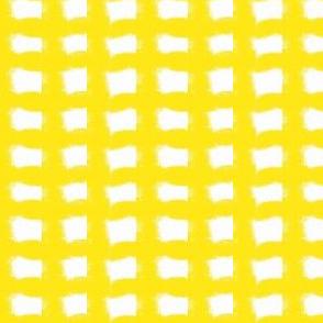 Sunshine Yellow Gingham