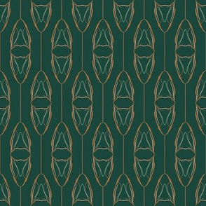 nature inspired motif on forest