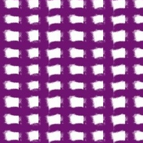 Royal Purple Gingham