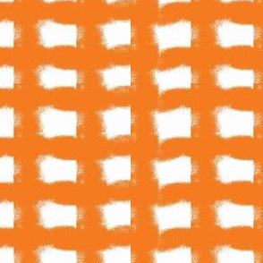 Orange Crush Gingham