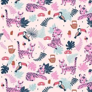 Tiger tea time pink small