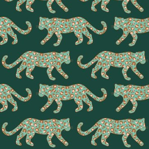 Kitty Parade - Rose / Bronze / Spearmint / Forest - Medium Scale