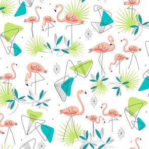 Flamingo-Rama (White)