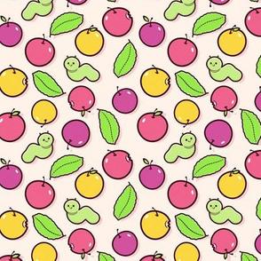 Pink Apple Medley - Smaller Print