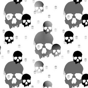 skull batik w