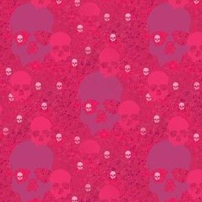 skull batiks p