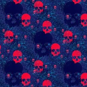 skull batiks b