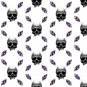 skull leaf pr