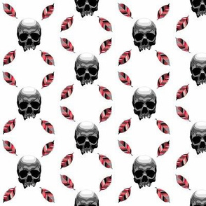 skull leaf r