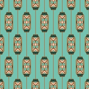 nature inspired motif on spearmint2