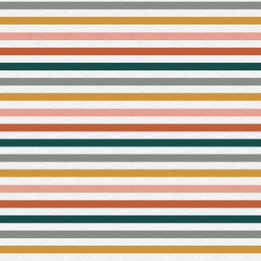 """Dusty Jewel Vintage Stripe (A) - 1/2"""""""