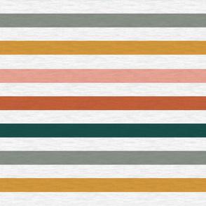 """Dusty Jewel Vintage Stripe (A) - 1"""""""