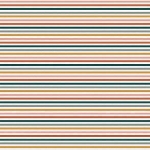 """Dusty Jewel Vintage Stripe (A) - 1/4"""""""