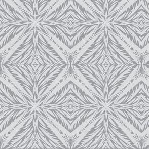 Jungle Diamonds of Silver Mist on Mystic Grey (#10)