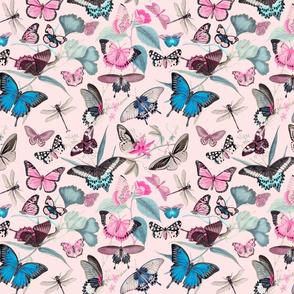 Romantic Butterfly Pattern
