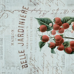 Nostalgic Strawberry Tea Towel