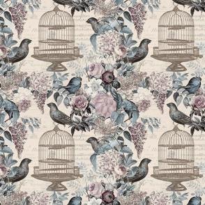 Exotic Flower And Hummginbird 2020 Calendar Teatowel
