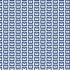 """Small 1/2"""" Blue Masonic Apron"""