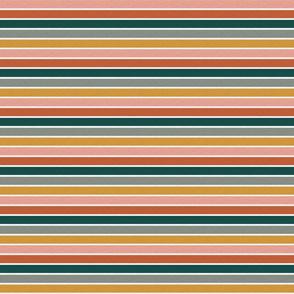 """Dusty Jewel Vintage Stripe (B) - 1/2"""""""