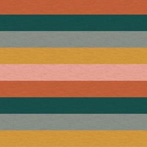 "Dusty Jewel Vintage Stripe (C) - 1"""