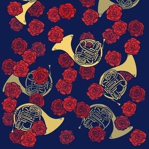 French Horn Roses
