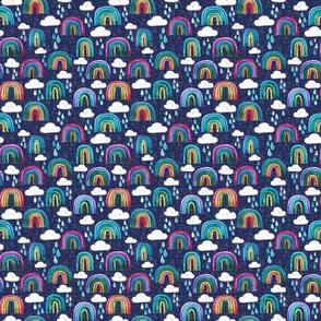 Rainbows Navy - Small