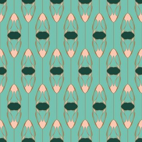 nature inspired motif1 on spearmint