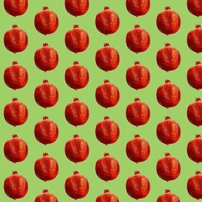 Pomegranates pur green