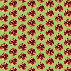 Pomegranates 2 green