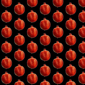 Pomegranates pur black