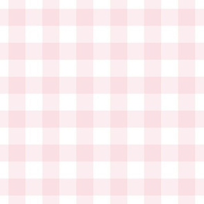 """10"""" pink and white gingham -mix & match"""