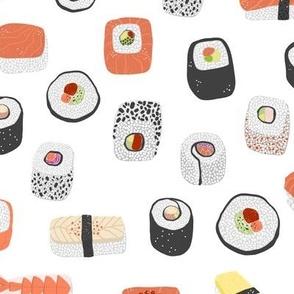 Sushi Nagiri Maki Japanese Food Art